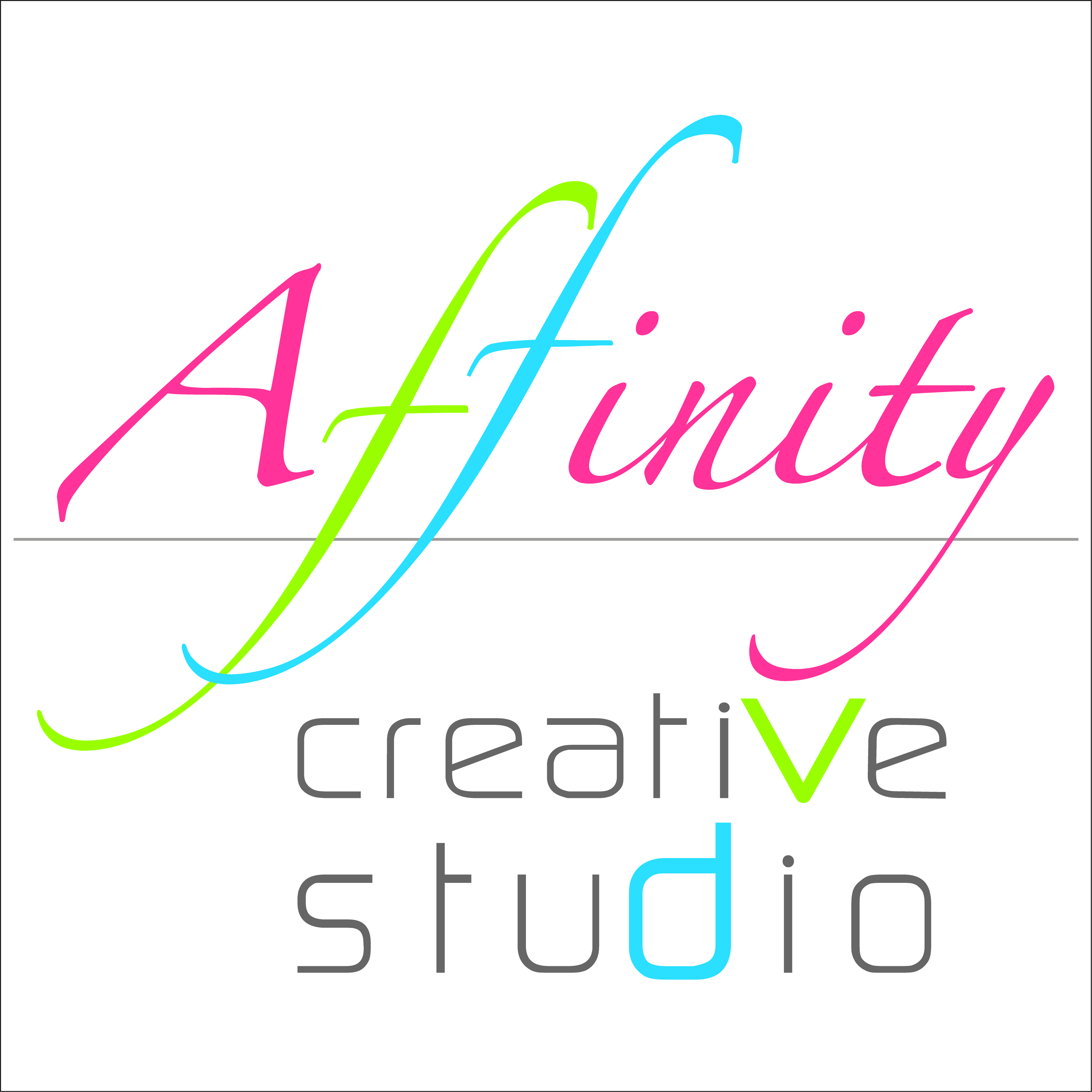 Affinity Creative Studio footer logotype