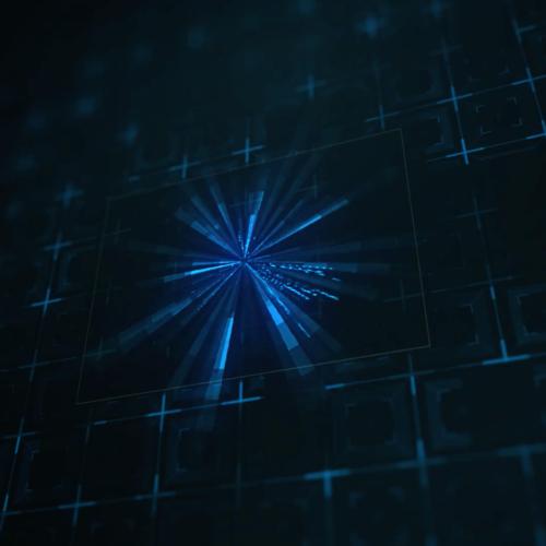 Futuristic Wave – animacja logotypu