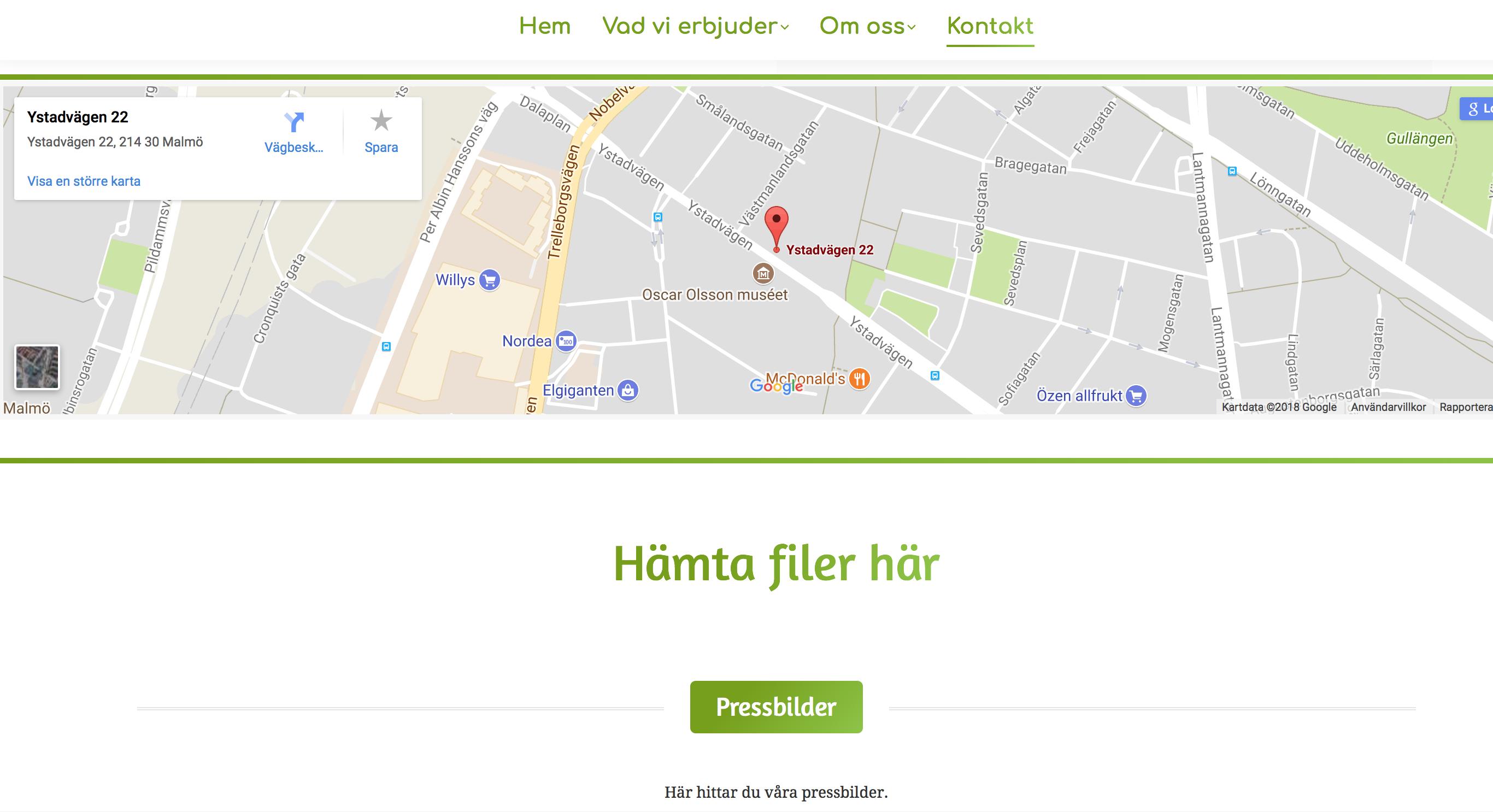 Viljakompetensutveckling.se-Kontaktsida-Google-Maps